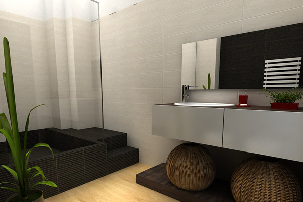 Idodesign rendering - Rendering bagno ...
